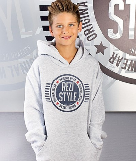 Bluza Junior z Kapturem - ReziStyle